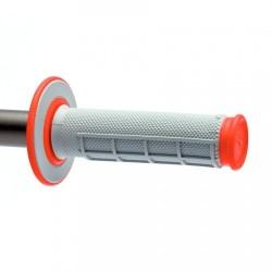Гумени дръжки Renthal MX Dual - червени