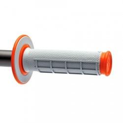 Гумени дръжки Renthal MX Dual - оранжеви
