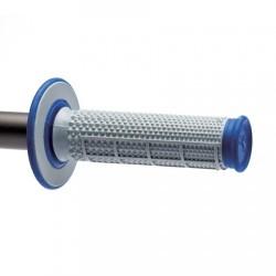 Гумени дръжки Renthal Dual Tapered MX  - сини