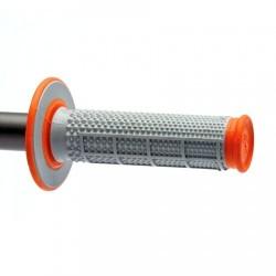 Гумени дръжки Renthal Dual Tapered MX - оранжеви
