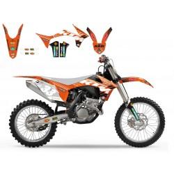 Комплект лепенки за KTM SX/SXF (2011-2012)