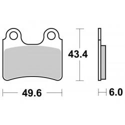 Накладки за спирачки 802 HF FRONT