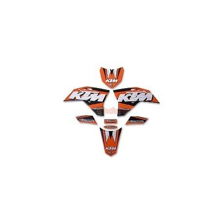 Комплект лепенки KTM EXC/EXCF (2008)