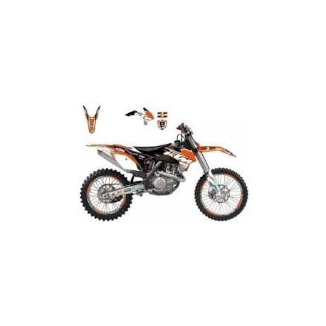 Комплект лепенки за KTM SX/SXF (2011-2012) и EXC (2012-2013)