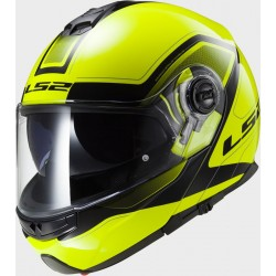 Каска пистова LS2 FF325 STROBE CIVIK HI-VIS YELLOW BLACK