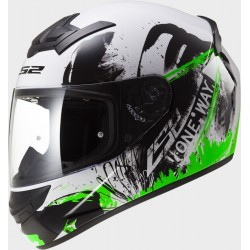 Каска FF352 LS2 ROOKIE ONE Black Fluo Green