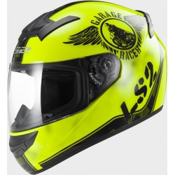 Каска пистова FF352 LS2 ROOKIE FAN Hi-Vis Yellow