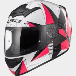 Каска LS2 FF352 ROOKIE BRILLIANT WHITE PINK