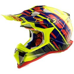 Каска LS2 MX470 SUBVERTER BOMBER YELLOW BLUE RED