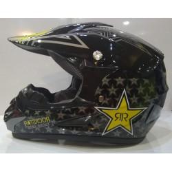 Детска каска кросов шлем Rockstar
