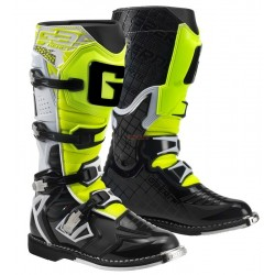 Ботуши GAERNE G.REACT goodyear White-Black-Yellow