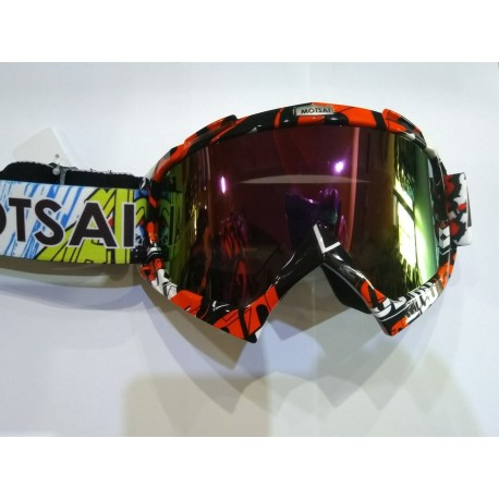 Защитни очила MOTSAI - с цветна слюда