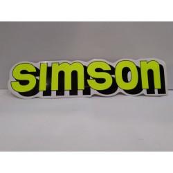 SIMSON емблеми за резервоара жълта
