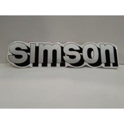 SIMSON емблеми за резервоара сива