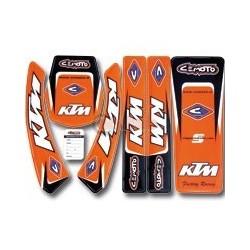 Комплект лепенки KTM SX/SXF