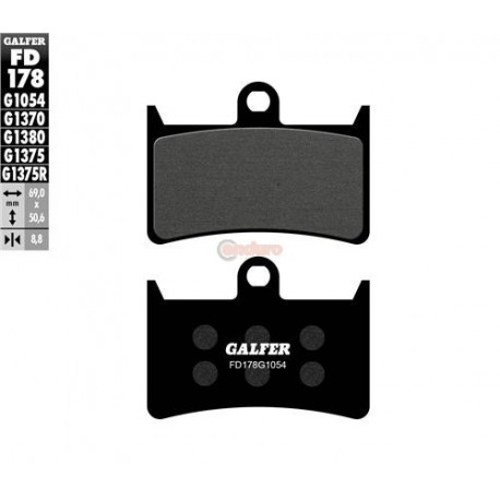 Накладки за спирачки GALFER FD178