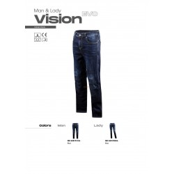 Панталон LS2 VISION EVO MAN JEANS BLUE