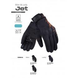 Ръкавици LS2 JET MAN GLOVES GREY ORANGE