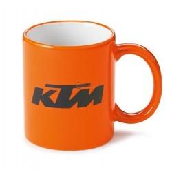 Чаша за кафе KTM с лого печат - орънжева