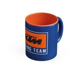 Чаша за кафе KTM с лого печат - синя