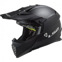 Каска кросов шлем LS2 MX437 FAST EVO MATT BLACK