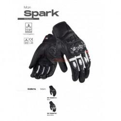 Ръкавици LS2 SPARK MAN GLOVES WHITE BLACK