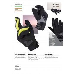 Ръкавици LS2 DART MAN GLOVES H-V YELLOW