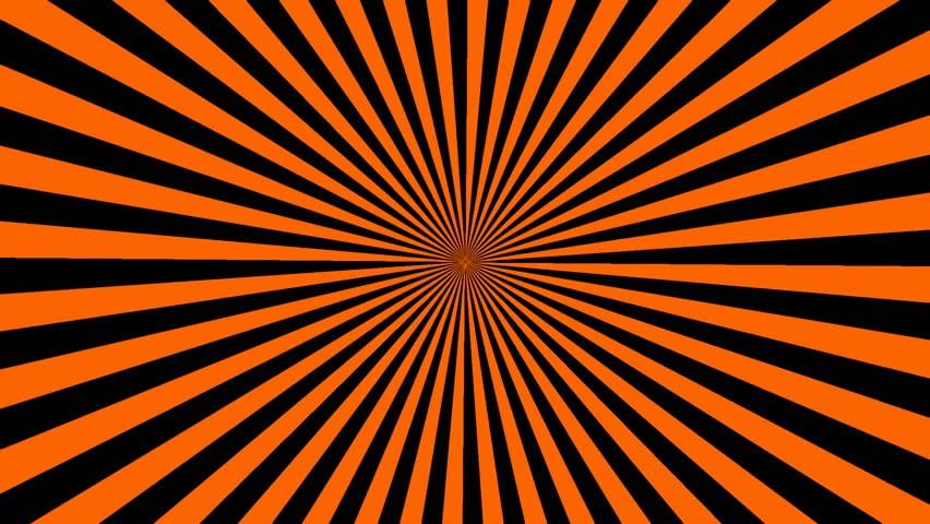 Черно - оранжево